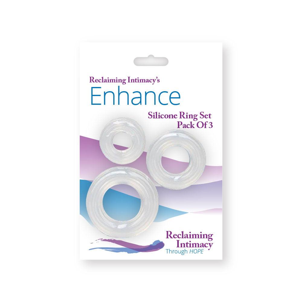 enhance silicone ring set